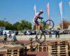 Démo de VTT Trial au Décathlon de Bron