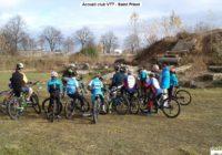 Accueil des clubs VTT de la région sur notre terrain