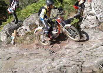 Compétition Moto à Rochepaule fin 2018