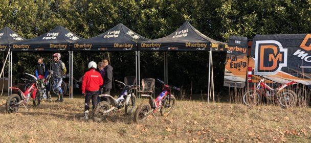 Quelques videos de la journée d'essai de la gamme trial 2019 du 27 janvier 2019