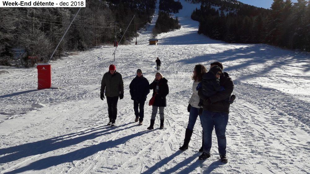 Week-end détente montagne 2018