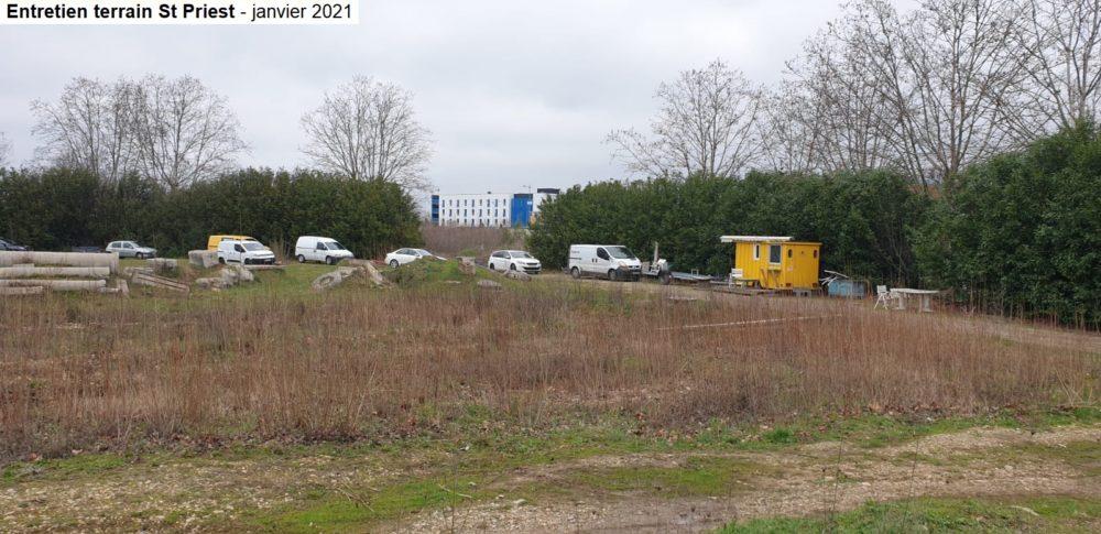 Entretien et aménagement terrain 2021